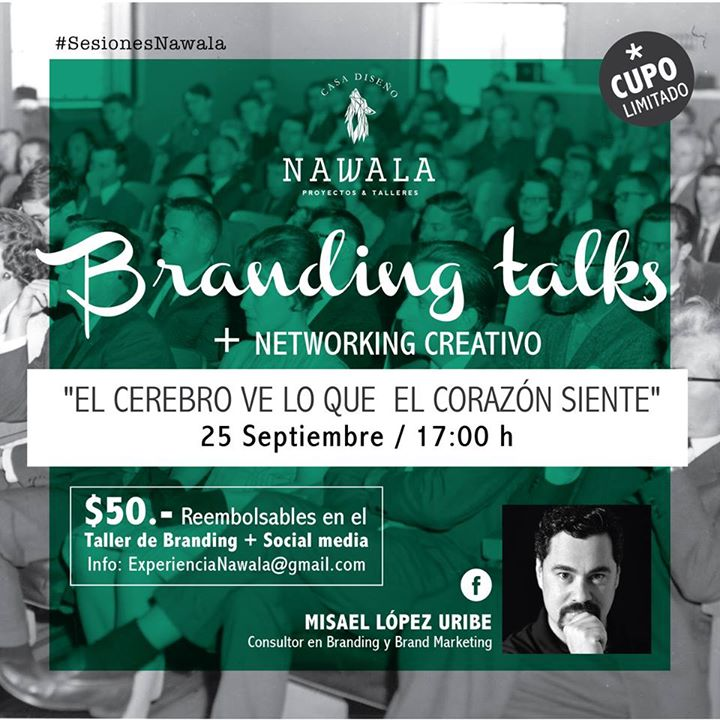 Sesión creativa con el tallerista invitado Misael López Uribe; las #SesionesNawala son complemento de los talleres; sin embargo si no puedes asistir a las sesiones; podrás inscribirte al taller de todos modos.