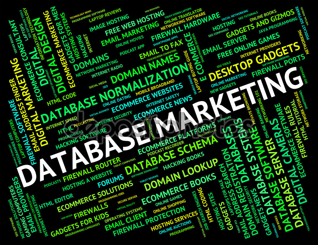 Database Marketing Meaning Text Words And Word
